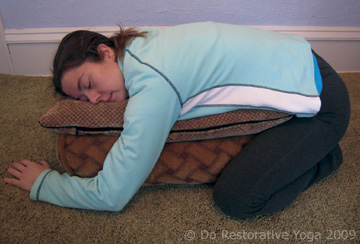 Restorative Yoga Poses, Restorative Yoga Images